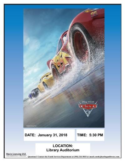 Cars 3 Movie 2018 (1)